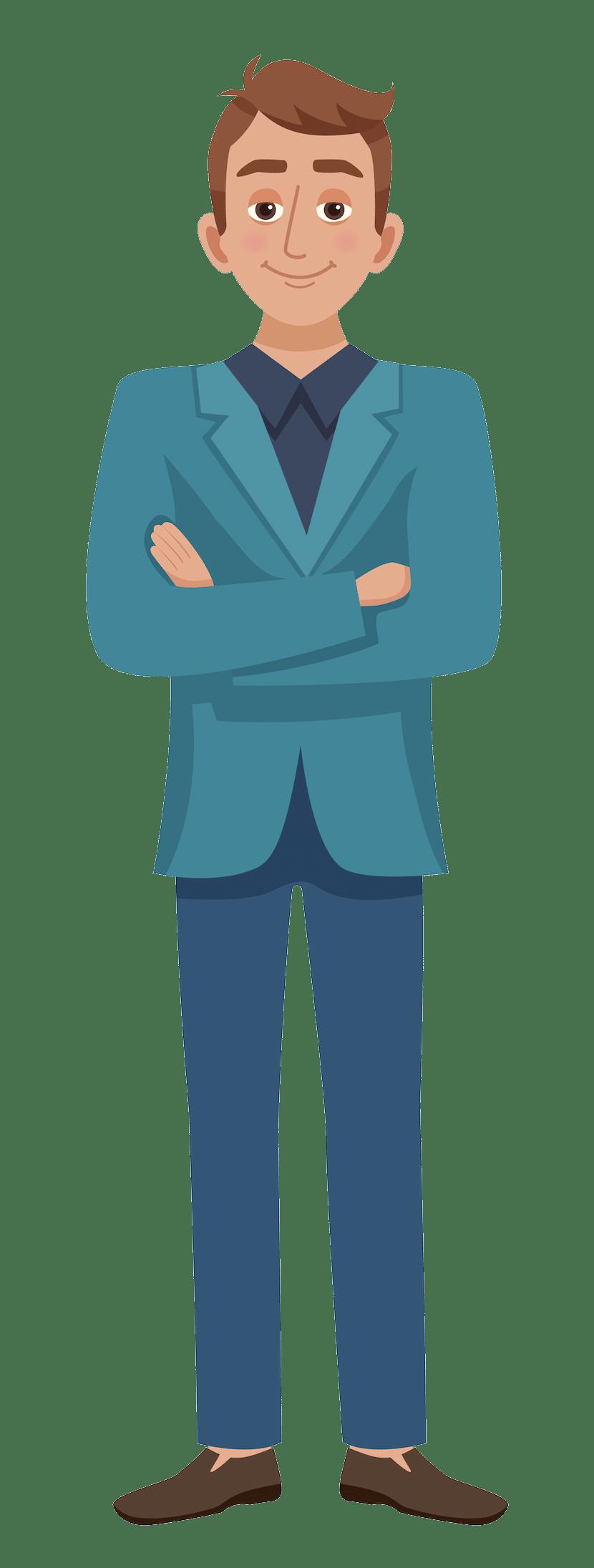 PERIFACT factuur programma  - man met armen over elkaar